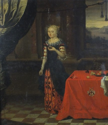 Lot 319-Circle of Hieronymus Janssens (1624-1693),...